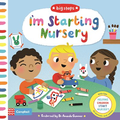 Book cover for I'm Starting Nursery